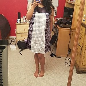 Work-appropriate Patterned Dress